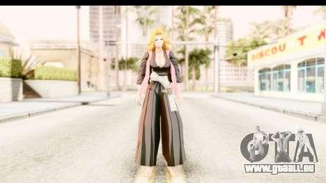 Bleach - Rangiku pour GTA San Andreas deuxième écran