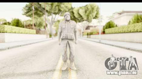 ArmyMen: Serge Heroes 2 - Man v1 pour GTA San Andreas deuxième écran