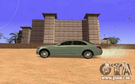 Mercedes-Benz C250 Armenian für GTA San Andreas linke Ansicht