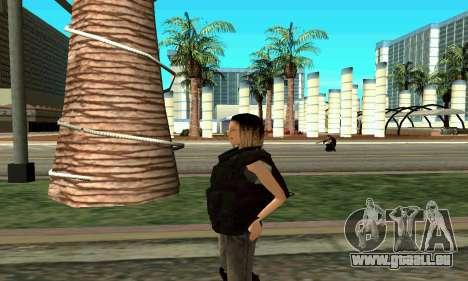 Female SWAT-trainer für GTA San Andreas her Screenshot