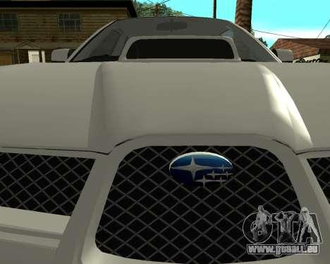 Subaru Impreza Armenian für GTA San Andreas rechten Ansicht