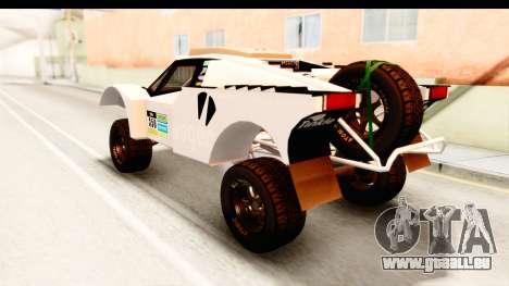 GTA 5 Desert Raid IVF PJ für GTA San Andreas Innen