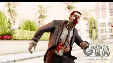 Left 4 Dead 2 - Zombie Suit pour GTA San Andreas