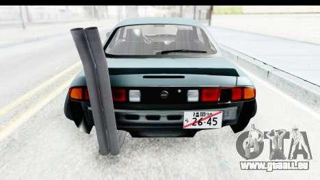 Nissan Silvia S14 Low and Slow für GTA San Andreas Seitenansicht
