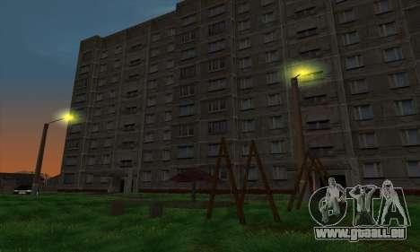 Der neue Bezirk in der Nähe von Arzamas für GTA San Andreas sechsten Screenshot