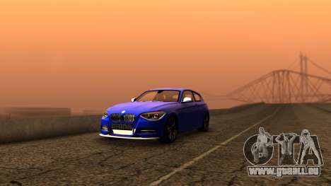 BMW M135i ISlaite Edition pour GTA San Andreas