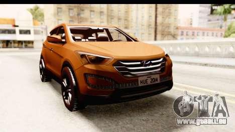 Hyundai Santa Fe 2015 für GTA San Andreas