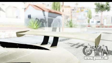 GTA 5 Emperor ETR1 IVF pour GTA San Andreas vue intérieure