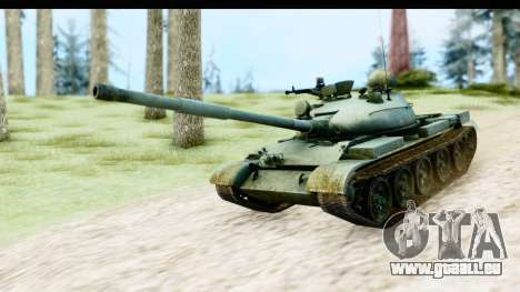 T-62 Wood Camo v1 pour GTA San Andreas
