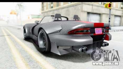 GTA 5 Bravado Banshee 900R Carbon Mip Map pour GTA San Andreas laissé vue