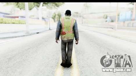 Left 4 Dead 2 - Zombie Baggage Handler für GTA San Andreas dritten Screenshot