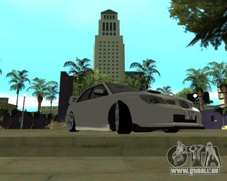 Subaru Impreza Armenian für GTA San Andreas linke Ansicht