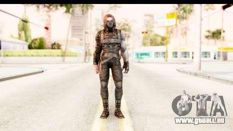 Marvel Future Fight - Winter Soldier für GTA San Andreas zweiten Screenshot