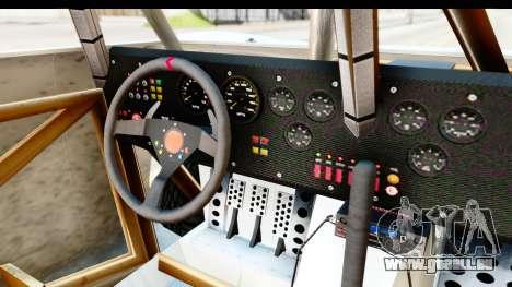 GTA 5 Trophy Truck IVF für GTA San Andreas Innenansicht
