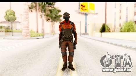 Homefront The Revolution - KPA v1 Red pour GTA San Andreas deuxième écran