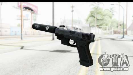 Glock P80 Silenced pour GTA San Andreas troisième écran