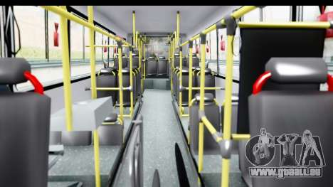Bus La Favorita Ecotrans für GTA San Andreas Innenansicht