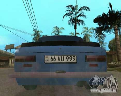 VAZ 2101 Arménie pour GTA San Andreas laissé vue