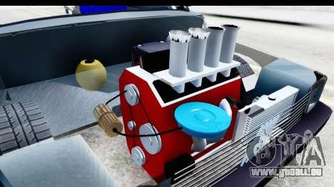 Fiat 147 für GTA San Andreas Innenansicht