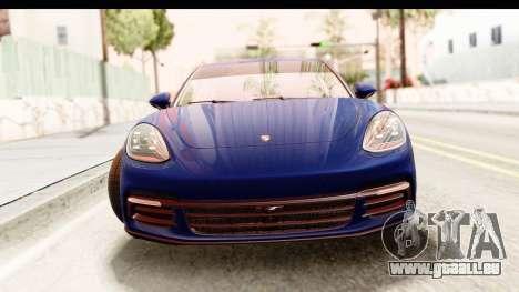 Porsche Panamera 4S 2017 v4 pour GTA San Andreas