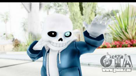 Sans The Skeleton Undertale pour GTA San Andreas