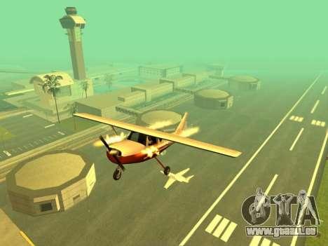 Hinzufügen von Waffen, um air-Technik für GTA San Andreas dritten Screenshot