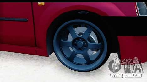 Dacia Logan Editie pour GTA San Andreas vue arrière