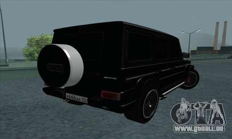 Mercedes-Benz G55 pour GTA San Andreas vue de droite
