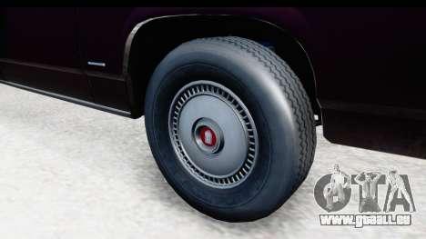 Ford LTD Crown Victoria 1987 pour GTA San Andreas vue arrière