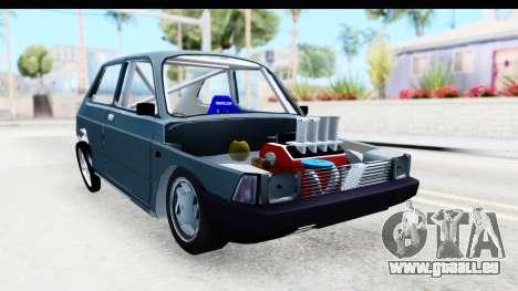 Fiat 147 pour GTA San Andreas vue de droite