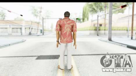 Yakuza 5 Kazuma Kiryu Okinawa pour GTA San Andreas troisième écran