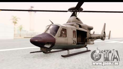 GTA 5 Buckingham Valkyrie pour GTA San Andreas vue de droite