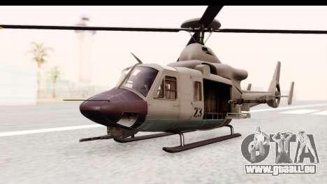 GTA 5 Buckingham Valkyrie für GTA San Andreas rechten Ansicht