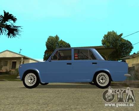 VAZ 2101 Arménie pour GTA San Andreas vue de droite
