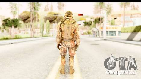 Danish Soldier für GTA San Andreas dritten Screenshot