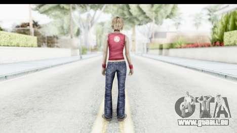 Silent Hill 3 - Heather Sporty Red Silent Hill für GTA San Andreas dritten Screenshot