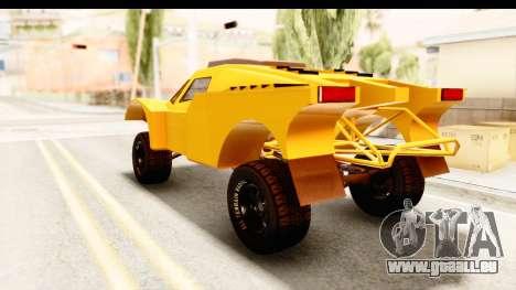 GTA 5 Desert Raid IVF PJ pour GTA San Andreas laissé vue
