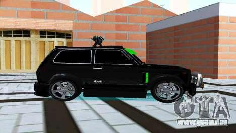 VAZ 21213 Niva 4x4 Tuning für GTA San Andreas zurück linke Ansicht