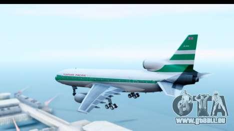 Lockheed L-1011-100 TriStar Cathay Pacific Air pour GTA San Andreas laissé vue