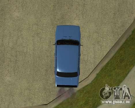 VAZ 2101 Arménie pour GTA San Andreas vue arrière