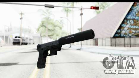 Glock P80 Silenced pour GTA San Andreas deuxième écran