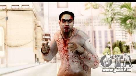 Left 4 Dead 2 - Zombie Shirt 1 pour GTA San Andreas