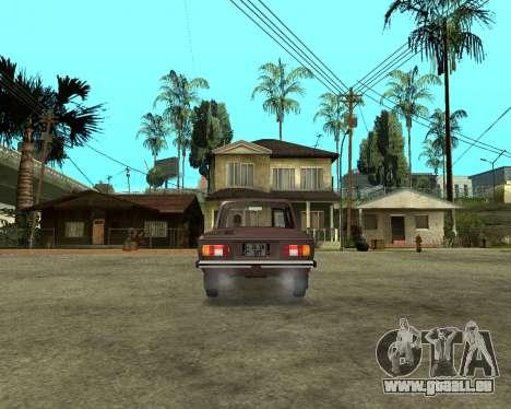 ZAZ 968M Arménie pour GTA San Andreas laissé vue