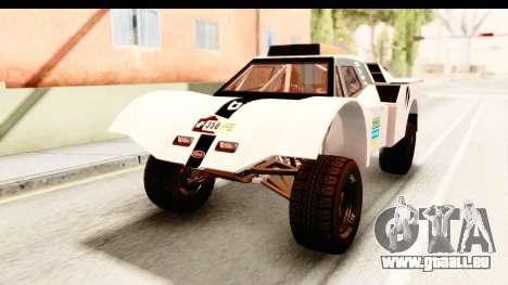 GTA 5 Desert Raid IVF PJ pour GTA San Andreas vue de dessous