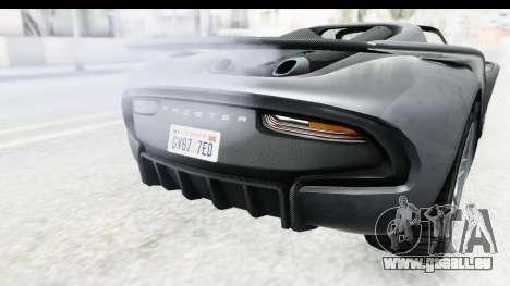 GTA 5 Pfister 811 IVF für GTA San Andreas Seitenansicht