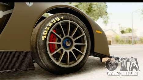 Scuderia Glickenhaus SCG 003C für GTA San Andreas Rückansicht