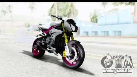 BMW S1000R NICC für GTA San Andreas rechten Ansicht