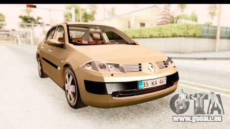 Renault Megane 2 Sedan 2003 pour GTA San Andreas vue de droite