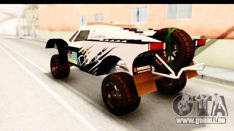 GTA 5 Desert Raid IVF PJ für GTA San Andreas obere Ansicht