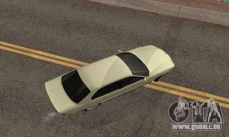 BMW 730 pour GTA San Andreas vue intérieure